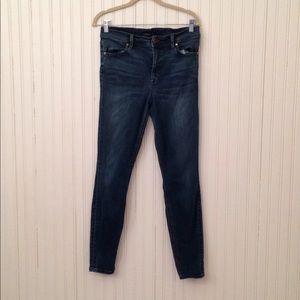 Level 99 | High waisted Skinny Jeans 31 Dark wash